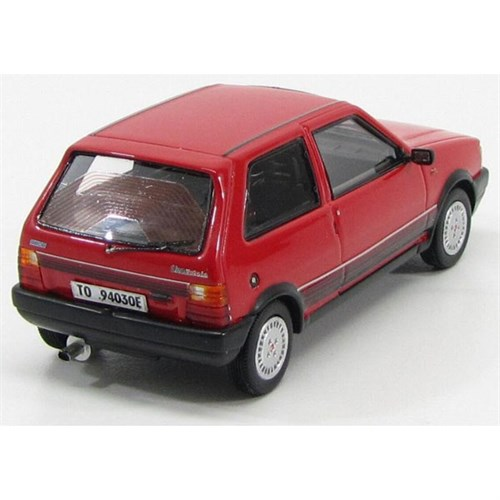 fiat uno turbo ie 1s 1986 red 1 43. Black Bedroom Furniture Sets. Home Design Ideas