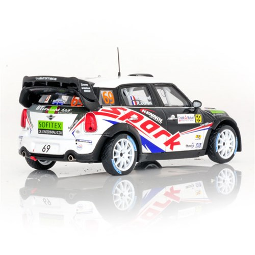 mini cooper wrc 2012 rally of france 69 r dumas 1 43. Black Bedroom Furniture Sets. Home Design Ideas