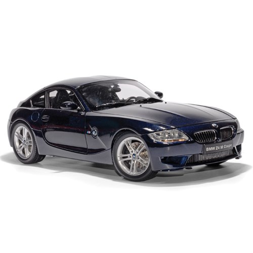 Bmw Z4m Coupe For Sale: BMW Z4M Coupe 2006 Blue 1:18