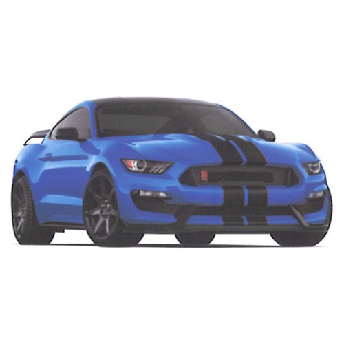 Gt350R For Sale >> Ford Mustang Shelby GT350R - Blue 1:43