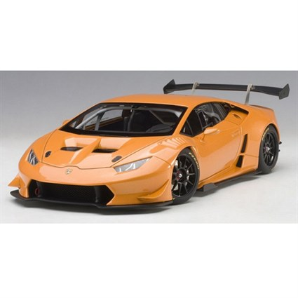 lamborghini huracan super trofeo 2015 bianco borealis orange metallic 1 18. Black Bedroom Furniture Sets. Home Design Ideas
