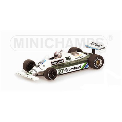 Williams FW07B - #27A. Jones - 1980 F1 World Champion 1:43