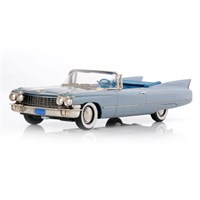 Cadillac Series 62 Convertible Coupe 1960 - Platinum Grey 1:43