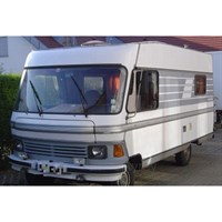 Hymer Mobil Type 650 Camper 1985 - White 1:43