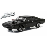 Dodge Charger 1970 - The Fast and The Furious 2001 - Black 1:18