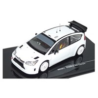 Citroen C4 WRC 2010 - Plain White 1:43