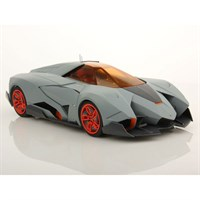 Lamborghini Egoista 2013 - Matt Grey/Orange 1:18