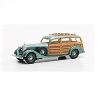 Hispano-Suiza K6 Break De Chasse Franay 1937 - Green Metallic 1:43