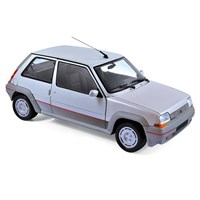Renault Supercinq GT Turbo 1985 - Silver 1:18