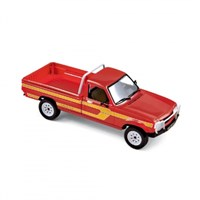 Peugeot 504 Pick Up 4X4 Dangel 1985 - Red/Yellow 1:43