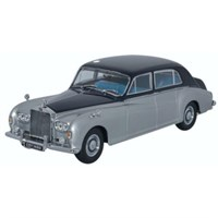 Rolls-Royce Phantom V James Young - Navy/Silver 1:43