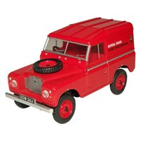 Land Rover S2A SWB Hard Top Royal Mail - Red 1:43