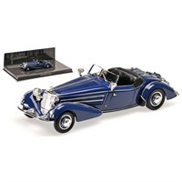 Horch 855 Special-Roadster 1938 - Dark Blue 1:43