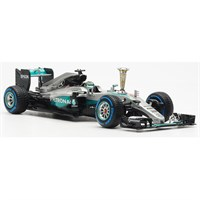Mercedes F1 W07 - Sindelfingen Demonstration Run - #6 N. Rosberg 1:43