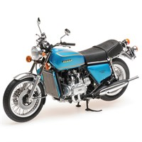 Honda Goldwing 1975 - Blue/Green 1:12