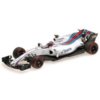 Williams FW40 - 2017 Test Bahrain - #41 G. Paffett 1:43