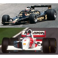 Lotus 79 1978 & McLaren MP4/8 1993 - M. Andretti & M. Andretti - Two Car Set 1:43