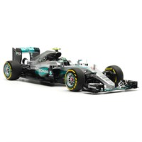 Mercedes F1 W07 Hybrid - 2016 Abu Dhabi Grand Prix World Champion - #6 N. Rosberg 1:18