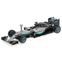 Mercedes F1 W07 - Sindelfingen Demonstration Run - #6 N. Rosberg 1:18