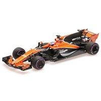 McLaren MCL32 - 2017 Monaco Grand Prix - J. Button 1:18