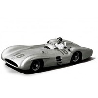 Mercedes W196 R Streamliner - 1st 1954 French Grand Prix - #18 J-M. Fangio 1:43