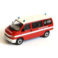 Volkswagen T4 Bus - German Fire Service - 1:43