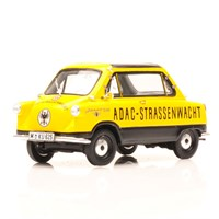 Zundapp Janus - ADAC - Yellow/White 1:43