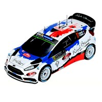 Ford Fiesta RS WRC - 2016 Monte Carlo Raly - #17 B. Bouffier 1:43