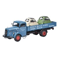 Mercedes Benz L6600 Dropside With Isettas - 1:43