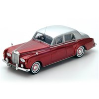 Bentley Continental S3 - Red/Silver 1:43