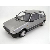 Fiat Uno Turbo 1985 - Metallic Silver 1:18