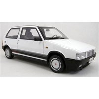 Fiat Uno Turbo 1985 - White 1:18