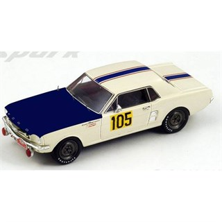 Ford Mustang - 1967 Monte Carlo Rally - #105 H. Chemin 1:43