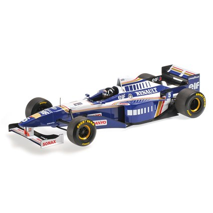 Williams FW18 - World Champion 1996 - #5 D. Hill 1:18