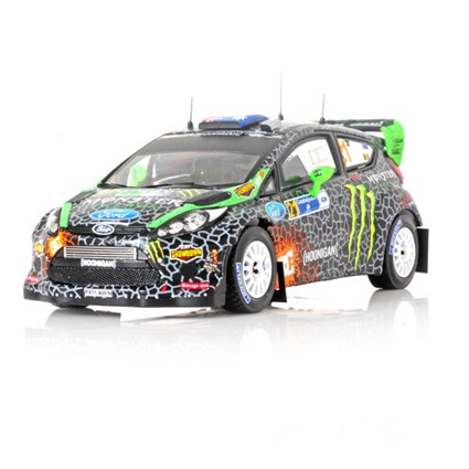 Ford Fiesta RS WRC - 2012 Rally of Mexico - #21 C. Atkinson 1:43