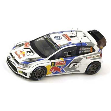 Volkswagen Polo R WRC - 2014 Monte Carlo Rally - #9 A. Mikkelsen 1:43
