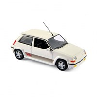 Renault 5 GT Turbo 1989 - Panda White 1:43