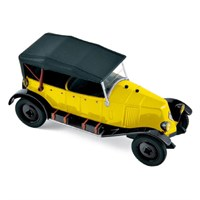Renault Type NN Torpedo 1927 - Yellow/Black 1:43