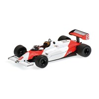McLaren MP4-1C - 1983 Silverstone Test - #8 S. Bellof 1:43