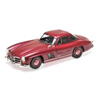 Mercedes 300SL 1954 - Strawberry Red 1:18