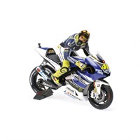 Yamaha YZR-M1 Dirty Look w. Figure - 1st 2013 Assen Moto GP - #46 V. Rossi 1:12