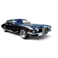 Stutz Blackhawk Coupe 1971 - Black 1:18
