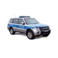 Mitsubishi Pajero - 2012 German Police Car 1:43