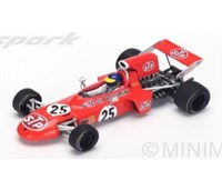 March 711 - 2nd 1971 Italian Grand Prix - #25 R. Peterson 1:43