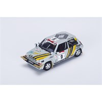 Renault 5 GT Turbo - 1st 1989 Ivory Coast Rally - #9 A. Oreille 1:43