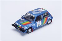 Renault 5 GT Turbo - 3rd 1990 Ivory Coast Rally - #4 A. Oreille 1:43