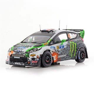 Ford Fiesta RS WRC - 2012 Rally of Mexico - #43 K. Block 1:43