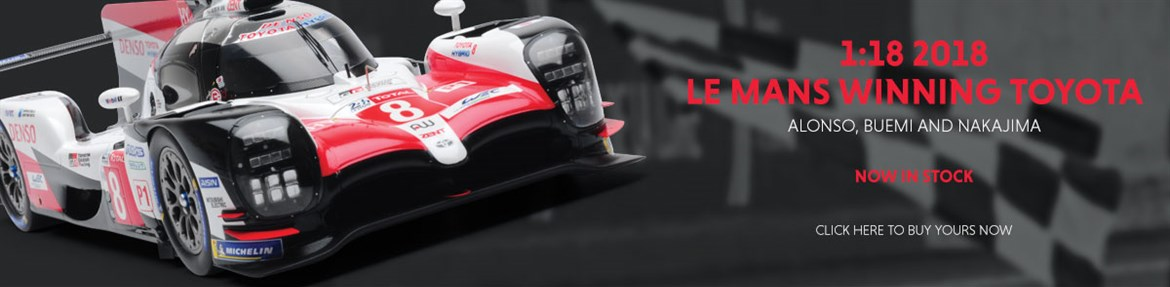 1:18 2018 Le Mans Winning Toyota diecast model car review