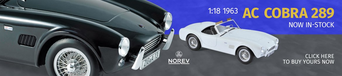 1:18 AC Cobra 289 from Norev