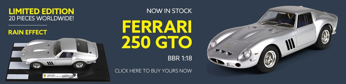 1:18 Ferrari 250 GTO model from BBR